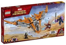 <b>Конструктор LEGO Marvel</b> Super Heroes 76107 Танос: Последняя ...