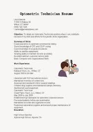 best optometric technician resume samples samplebusinessresume resume samples optometric technician resume sample
