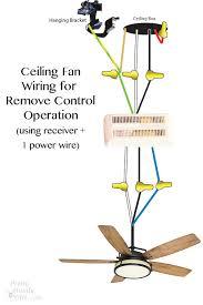 hook up ceiling fan wiring