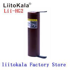 <b>Liitokala new</b> HG2 18650 3000mAh battery 18650HG2 3.6V ...