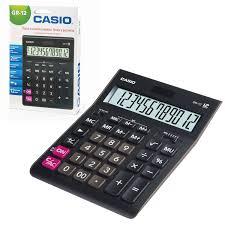 <b>Калькулятор</b> настольный <b>CASIO GR</b>-<b>12</b>-W (209х155 мм), 12 ...