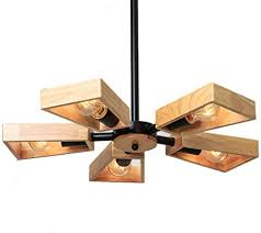 Chandelier Solid Wood <b>Nordic Creative Living Room</b> Study ...