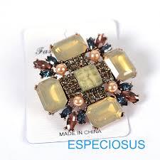 Elegance <b>Rhinestone Pin</b> New Style <b>Jewelry</b> Coffee Color <b>Pearl</b> ...