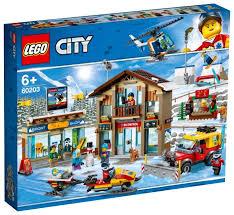 <b>Конструктор LEGO City</b> 60203 Горнолыжный курорт — купить по ...