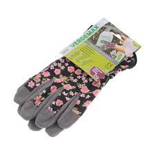 <b>Перчатки садовые Verdemax</b> женские цветочные s (3871330 ...