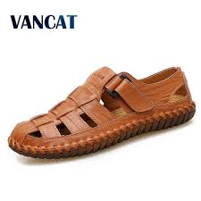VANCAT <b>New Summer Men Sandals</b> 2019 Leisure Beach Men ...