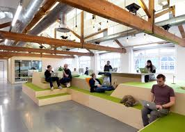 the airbnb office in london by threefold airbnb offices