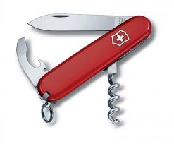 <b>Нож перочинный</b> VICTORINOX <b>Waiter</b>, 84 мм, 9 функций, красный ...
