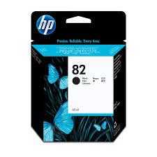 <b>HP 82</b> 69 ml <b>Black DesignJet</b> Ink Cartridge, Original, Pigment based ...