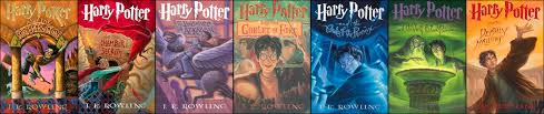 Image result for harry potter books series