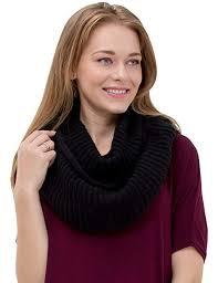 Women's <b>Winter</b> Warm Thick Chunky Rib Knit Infinity Loop <b>Scarf</b> ...