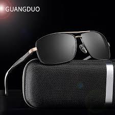 GUANGDU Brand Polarized Sunglasses Men New Fashion Eyes ...