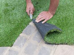 patio stone artificial turf learnhowtolayartificialturfinyour  learnhowtolayartificialturfinyour