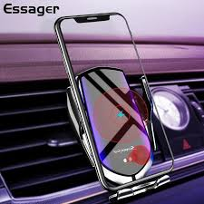 <b>Essager 20W</b> 15W Qi Car Wireless <b>Charger</b> For iPhone Samsung ...