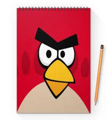 """Блокнот на пружине А4 """"<b>Angry Birds</b> (Terence)"""" #2483845 от Аня ..."""