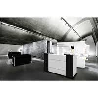 ddk apex max reception desk 1800lx1150hx900d mm blackened linewoodwhite apex lite reception counter