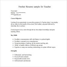 10 excel pdf standard resume format template