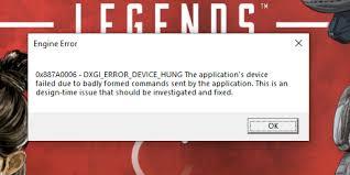 Apex Legends crash - Answer HQ