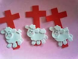 Resultado de imagem para lembrancinhas de pascoa em eva ovelhinha