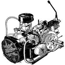 """Résultat de recherche d'images pour """"moteur 2cv"""""""