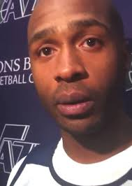 """Jamaal Tinsley ** On coming back to the Jazz I was just waiting for a call…I just told my agent, you know, """"If Utah give me a call, I want to go back."""" - jt"""