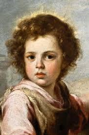 Murillo, Bartolomé Esteban Perez : Der gute Hirte (Detail). Barok. Artikelnummer: 1004112b. EAN-Code: 4050356978696. direct leverbaar - thm_1004112b-1