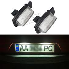 <b>MZORANGE</b> LED License Plate Lights with bulbs For Toyota PRIUS ...