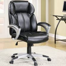 furniture popular cozy black wooden desk chair ideas small executive office luxury appealing back leather high bedroomappealing real leather office chair
