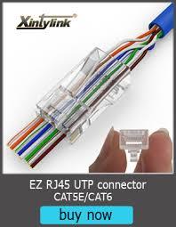 Buy <b>xintylink</b> ez <b>rj45</b> connector ethernet cable plug cat6 cat5e cat5 ...