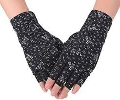 Flammi <b>Women's</b> Fingerless <b>Sun</b> Gloves Non Skid <b>Cotton</b> Driving ...