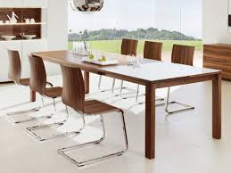 space modern kitchen tables