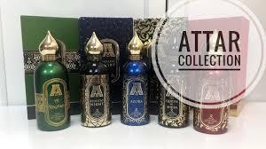Обзор ароматов от <b>Attar Collection</b> - моя коллекция - YouTube