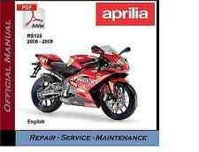 aprilia motorcycle manuals & literature ebay Aprilia Rs 125 Euro 3 Wiring Diagram aprilia rs125 2006 2009 rs 125 workshop service repair manual Triumph Speed Triple Wiring Diagram