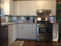 l shaped solid wood kitchen cabinet with stainless steel burner under metal cooker hoods combined with furniture beautiful combination wood metal furniture