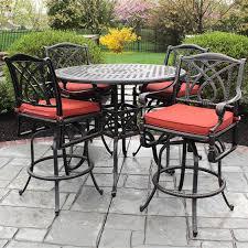 patio bar table set tall