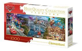 Disney <b>Cars</b> - 1000 pcs - <b>Panorama</b> Puzzle - Clementoni