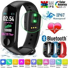 ᐅ Smart Watch M3 Fitness Tracker IP67 Waterproof Sport Heart ...