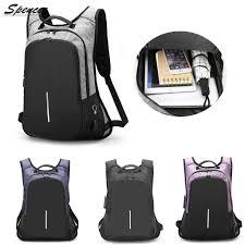 Spencer - Spencer <b>Anti</b>-<b>theft Laptop</b> Backpack for <b>Men</b> Women ...