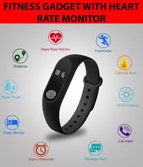 Bingo M-2 <b>Waterproof</b> Heart Monitoring Fitness <b>Smart Band</b> ...