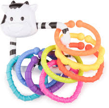 <b>Погремушка Happy Baby</b> Moo-Ring — купить в интернет ...