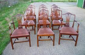 hepplewhite shield dining chairs set: antique set twelve georgian chairs set of  georgian th century style hepplewhite shield back