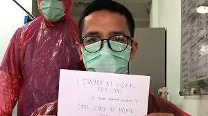 In Indonesia, some doctors are fighting coronavirus in rain gear ...