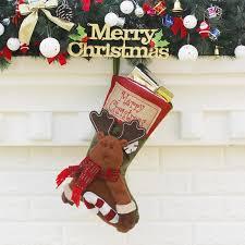 WS <b>Christmas</b> sock Pendant Little Fawn <b>Christmas</b> Supplies Sale ...
