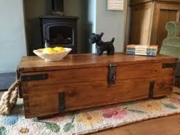 room vintage chest coffee table: pine box wooden chest coffee table toy storage