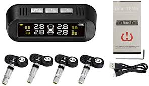 KKmoon Tyre Pressure <b>Sensor TPMS</b> Tyre Pressure Control System ...