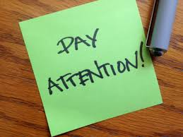 Image result for clipart for pay attention