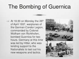 「Bombing of Guernica」の画像検索結果