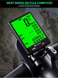 WEST <b>BIKING</b> 2.8'' <b>Large Screen Bicycle</b> Speedometer <b>Waterproof</b> ...