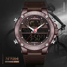 NAVIFORCE <b>Мужчины</b> Спорт <b>Кварц Wristwatch</b> ...