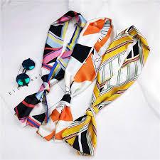 Fashion double-sided wild <b>small</b> scarf professional scarf ...